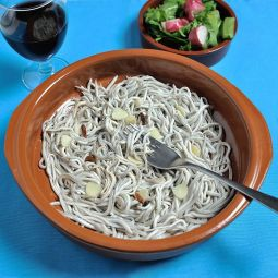 Gulas with Garlic