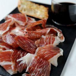Iberian Cebo de Campo Ham Sliced