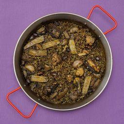 Paella de légumes