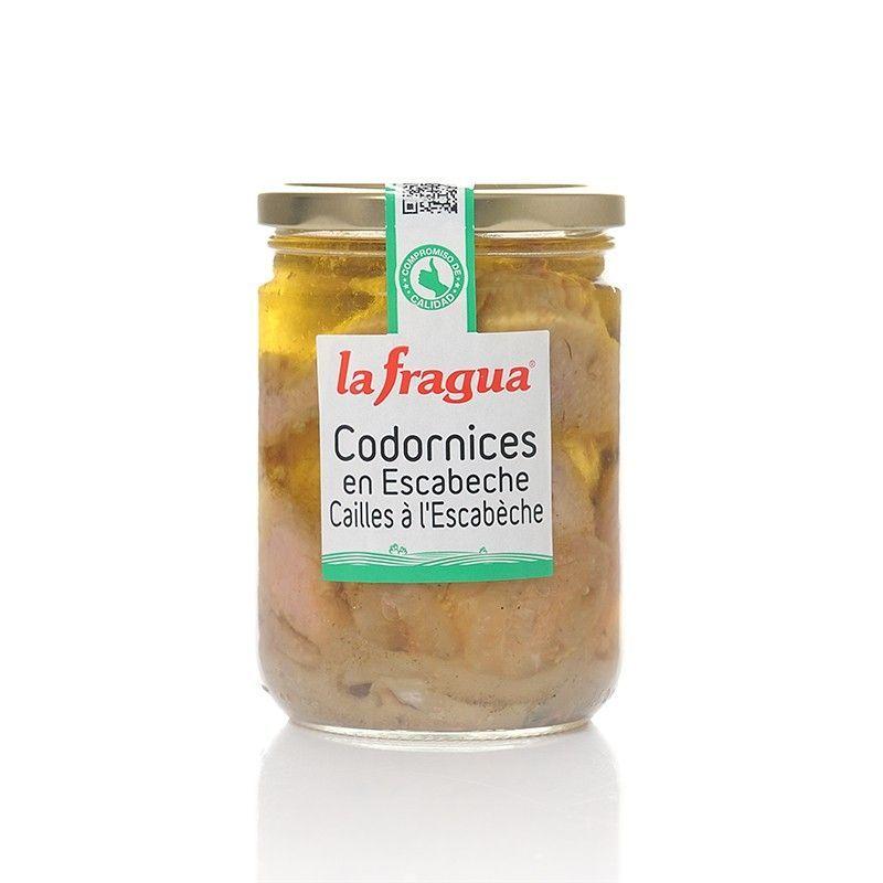 Codornices en Escabeche