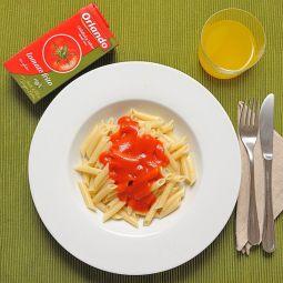 Sauce Tomate avec Huile d'Olive Orlando