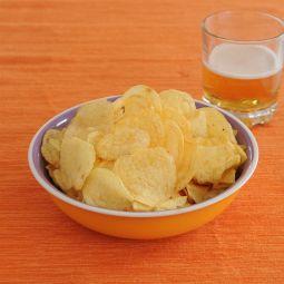 Patatas fritas mostaza y miel