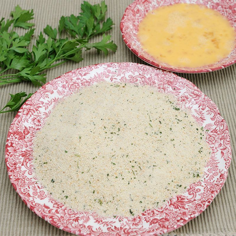Bread Crumbs with Garlic and Parsley