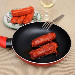 Sweet fried chorizo