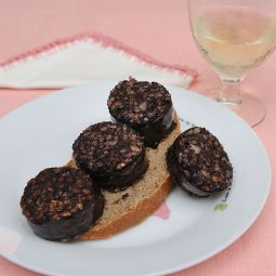 black pudding from Burgos Sotopalacios