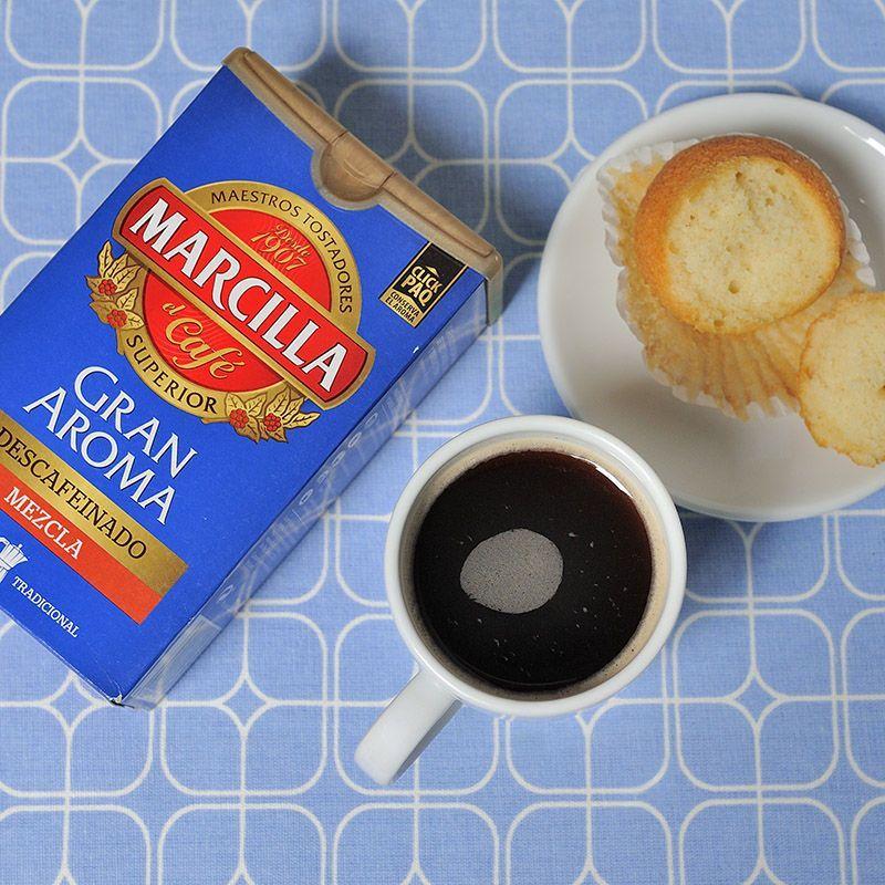 Café descafeinado Marcilla