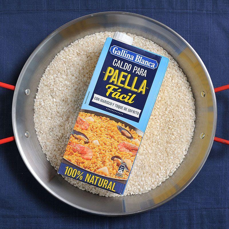 Caldo con Sofrito para Paella