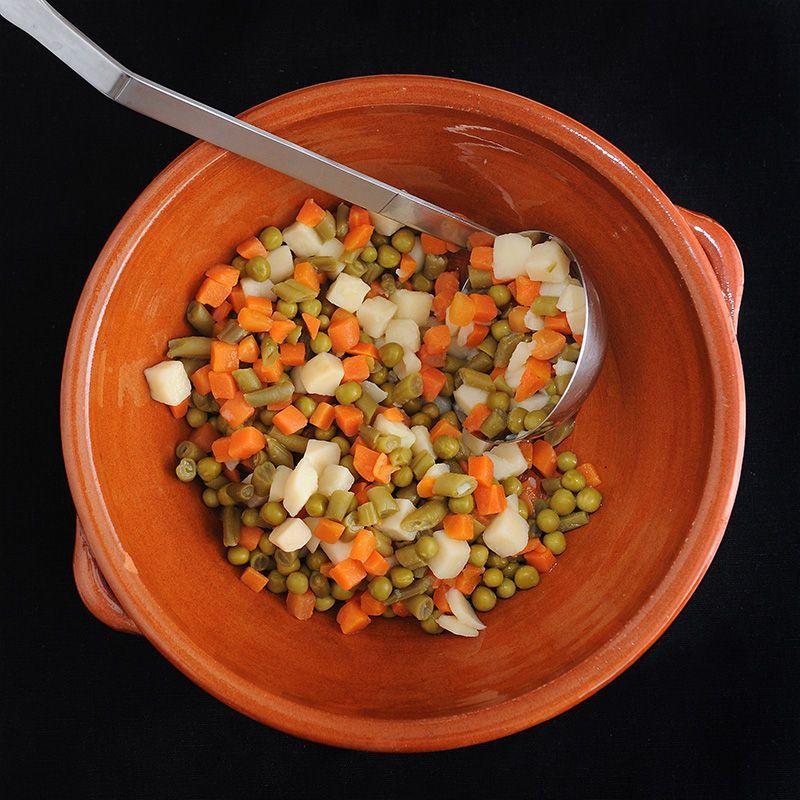 Mazedonien von Gemüse