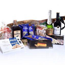 Iberian Ham Christmas Basket