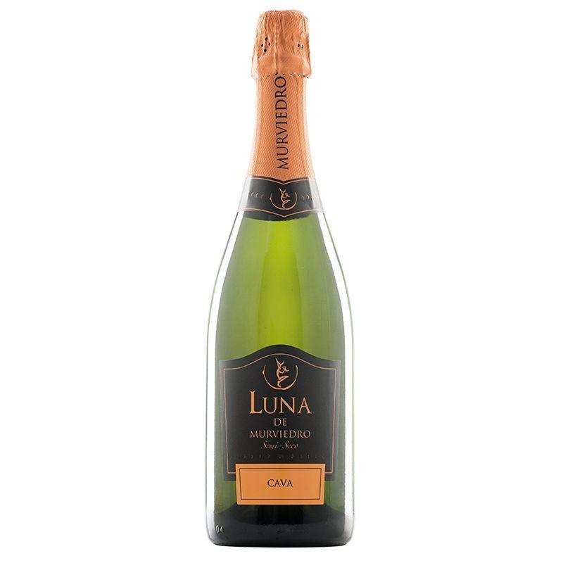 Champagner Luna de Murviedro halbtrocken