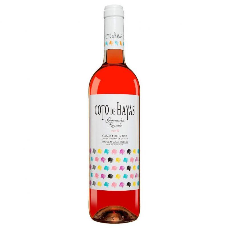 Coto de Hayas pink wine