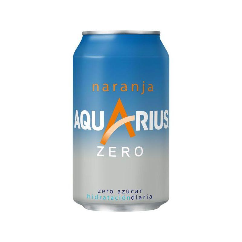 Aquarius Naranja Zero 33 cl.