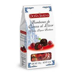 Bombones de cereza al licor