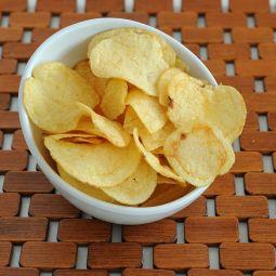 Patatas fritas con aceite de Oliva