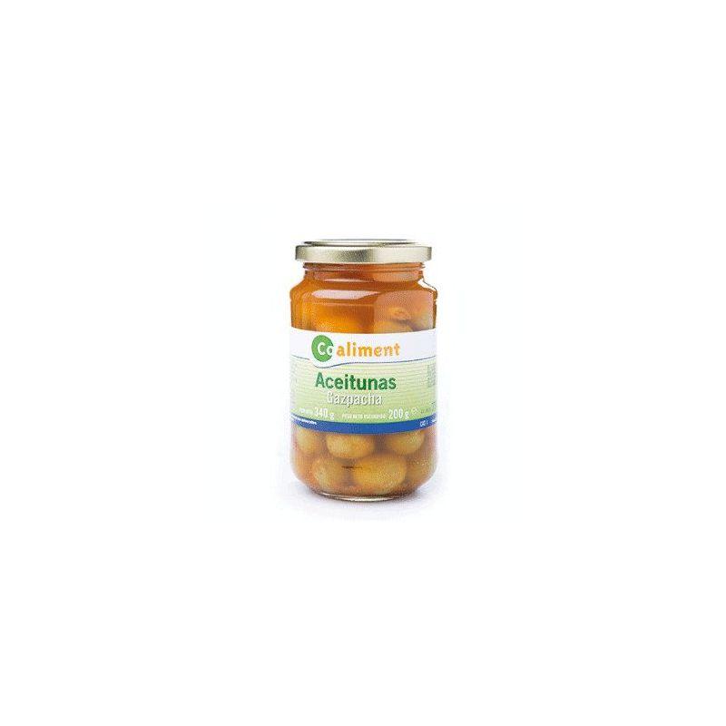 Aceitunas verdes Gazpacha