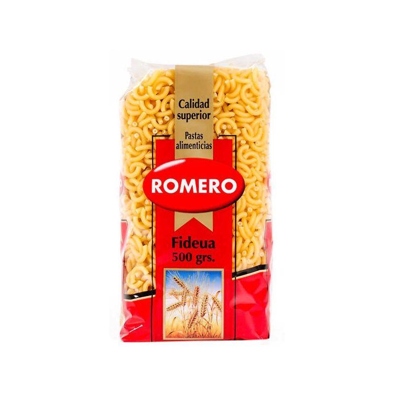Nudeln für Fideua romero