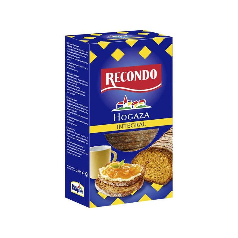 Hogaza toast brot Recondo