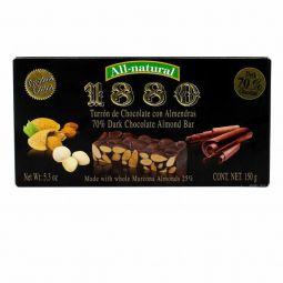 Turrón de Chocolate y almendras Premium 1880