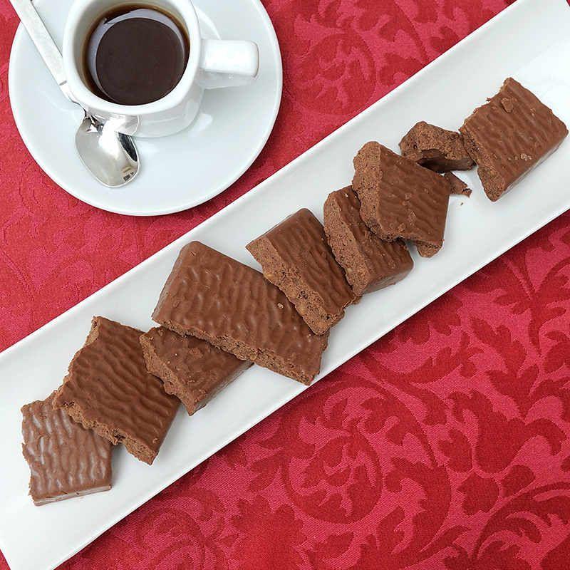 Turrón de Chocolate Crujiente Sin Azúcares