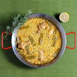 Paella with Chicken and Vegetables