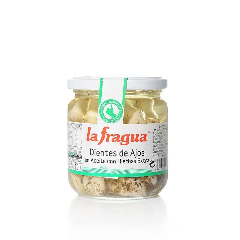 Ajos en Aceite con Hierbas