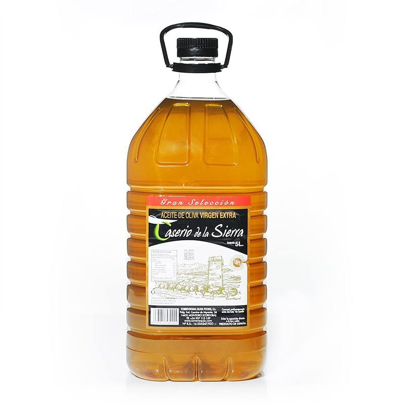 Aceite de Oliva Virgen Extra 5 litros Caserio de la Sierra