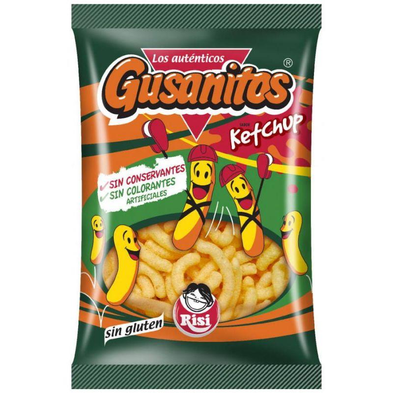 Gusanitos Ketchup Risi