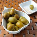Grüne Gordal Oliven