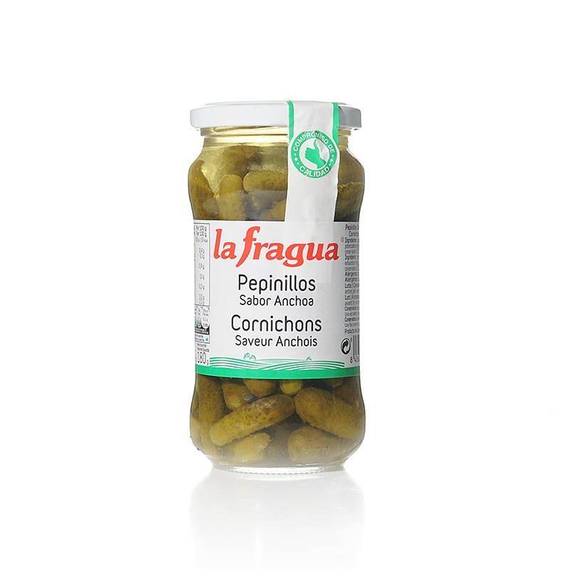 Pepinillos sabor anchoa