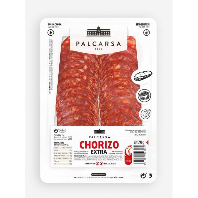 Chorizo Loncheado Palcarsa
