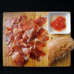 Jambon D.O. Teruel au couteau