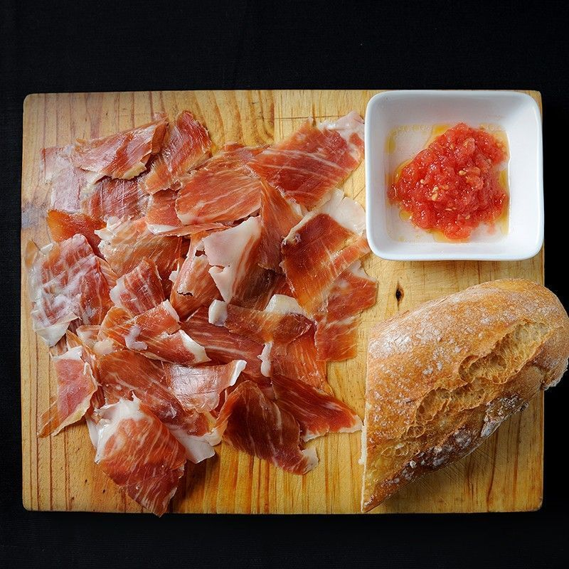 Serrano Ham D.O. Teruel Sliced by Knife