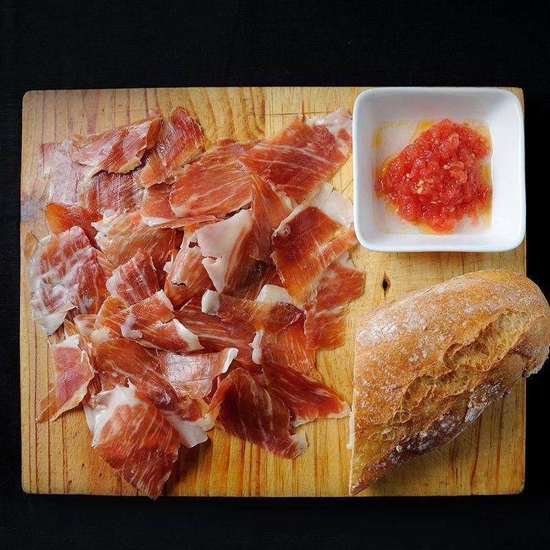 Serrano Ham D.O. Teruel Sliced by Knife