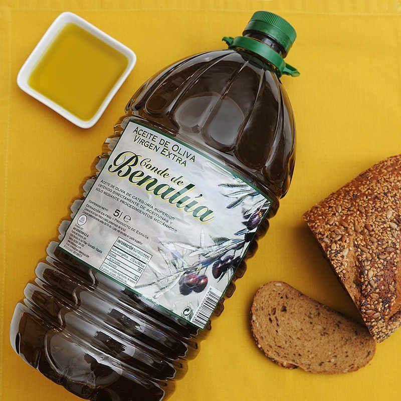 Aceite de Oliva Virgen Extra 5 litros Conde de Benalúa