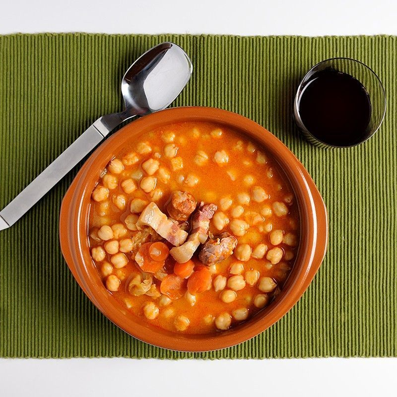 Chickpeas Stew from Madrid Extra