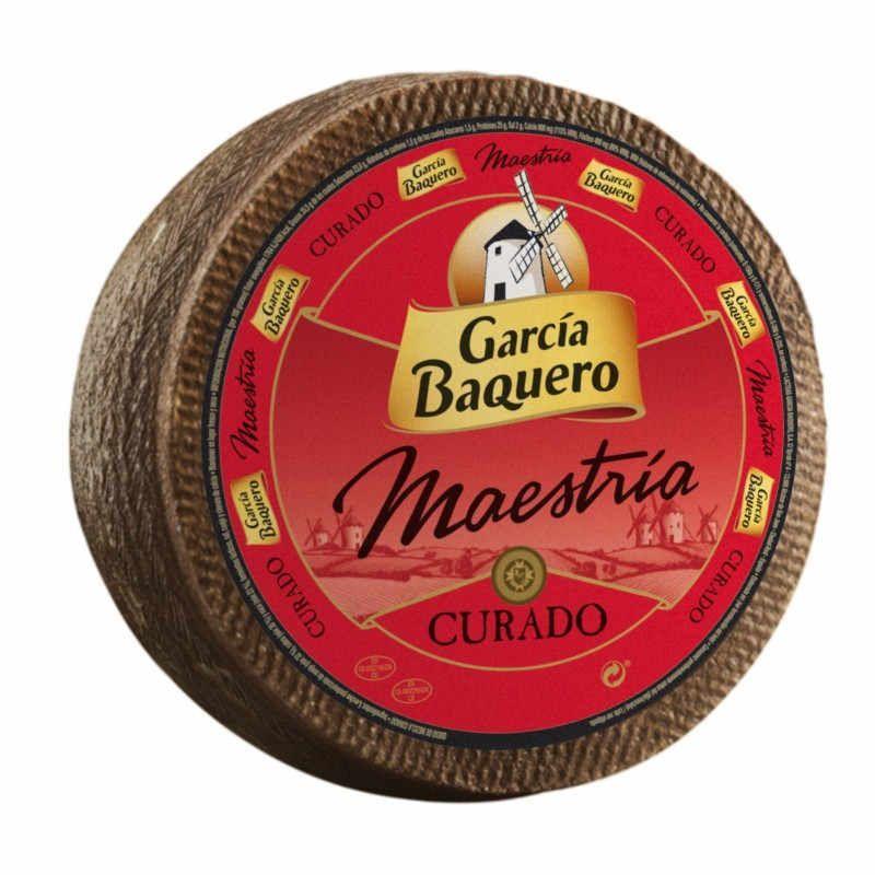 García Baquero Curado 3 kg. Pieza Entera