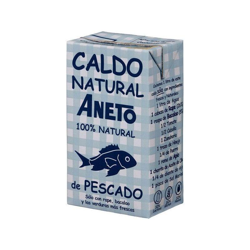 Caldo de Pescado Aneto 100% Natural