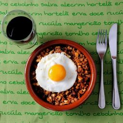 Migas - Crumbs with Chorizo