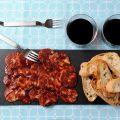 Iberische Chorizo Aufgeschnitten