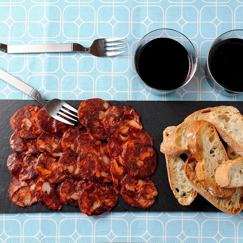Chorizo ibérique filetage