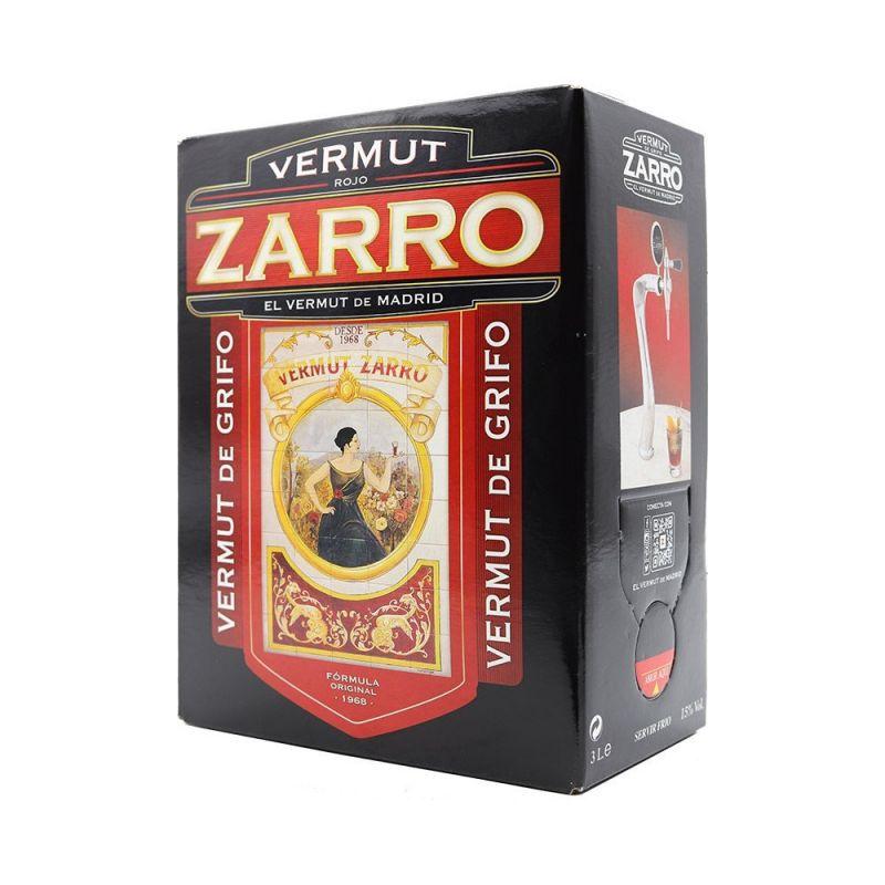 Vermut Zarro Rojo 3 L.
