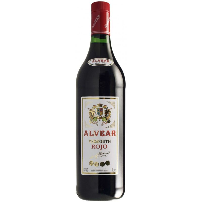 Vermut rojo Alvear
