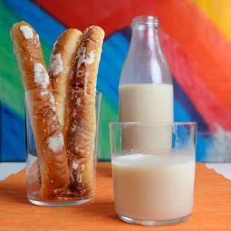 Bio-Erdmandelmilch mit Fartons