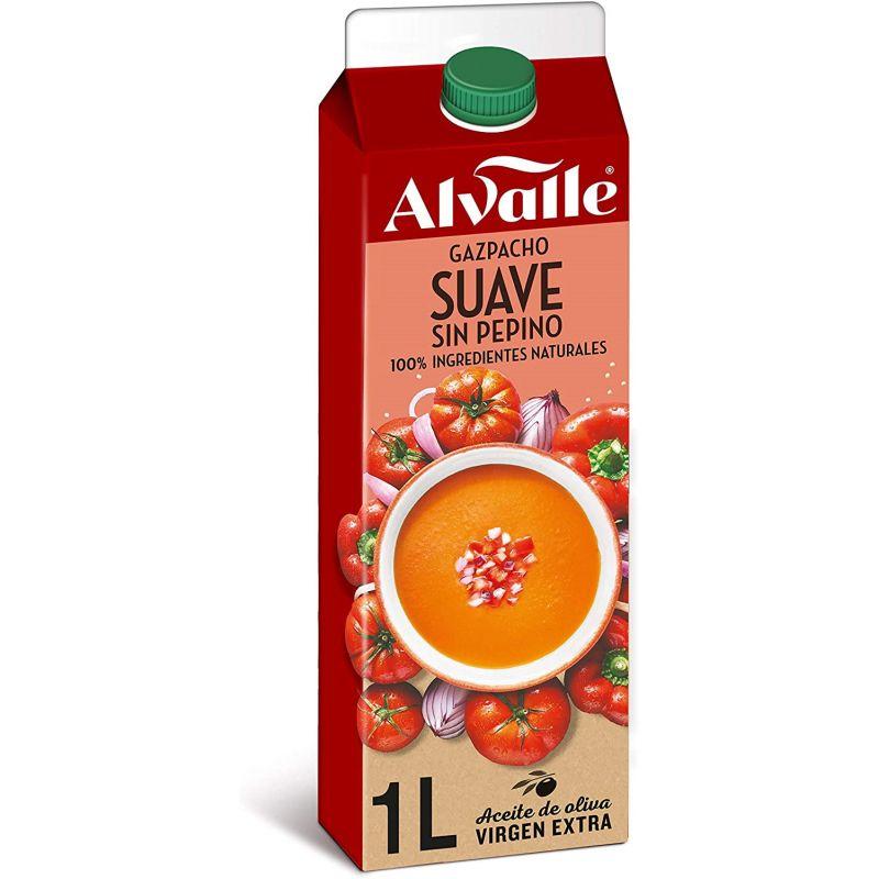 Gazpacho suave Alvalle