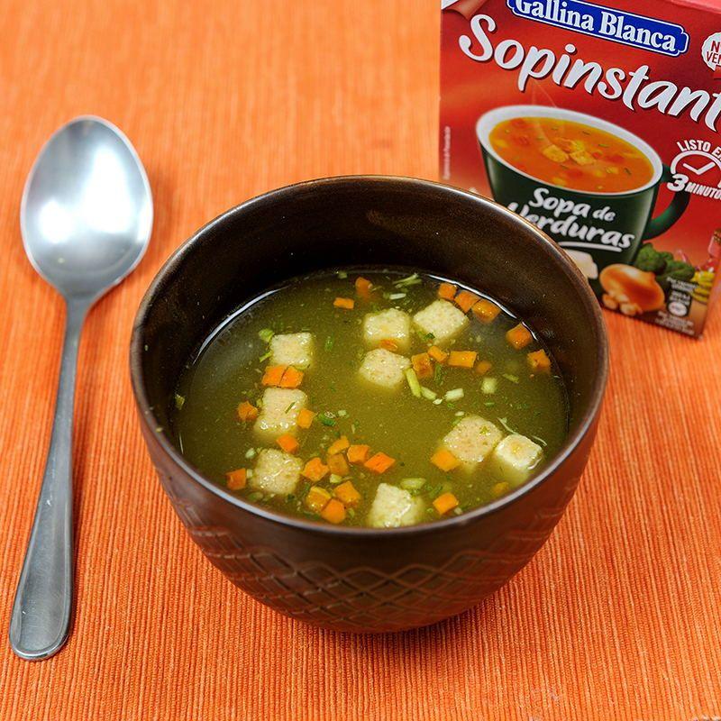 Sopa de Verduras sopinstant
