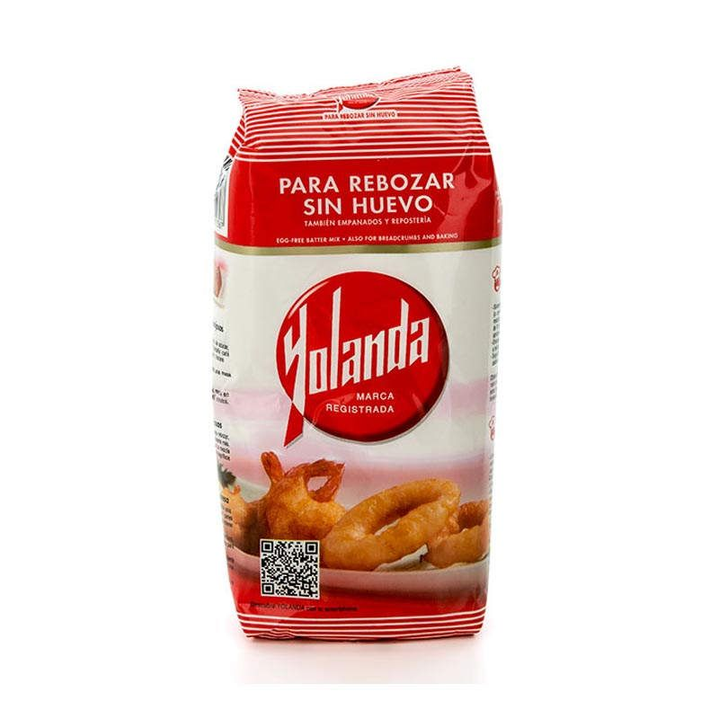 Harina para Rebozar sin huevo Yolanda