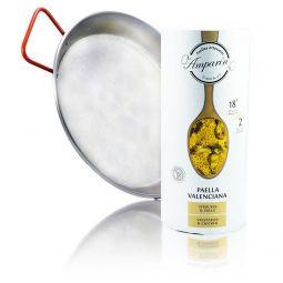 PACK Paellera + Paella Valenciana con Pollo