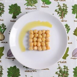 Chickpeas cooked Extra