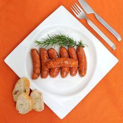 Chorizo frito en Orza