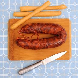 Iberische Chorizo am Stück